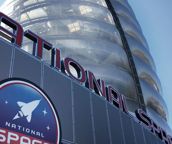 national space centre front